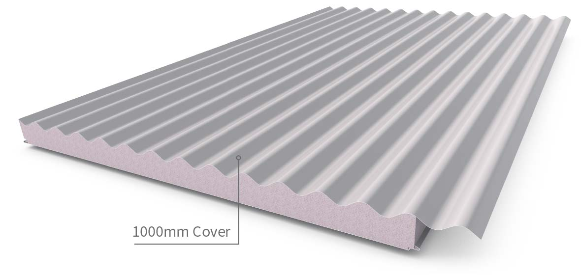 Cladding Roofing Sheeting Walling Cooldek Profile3